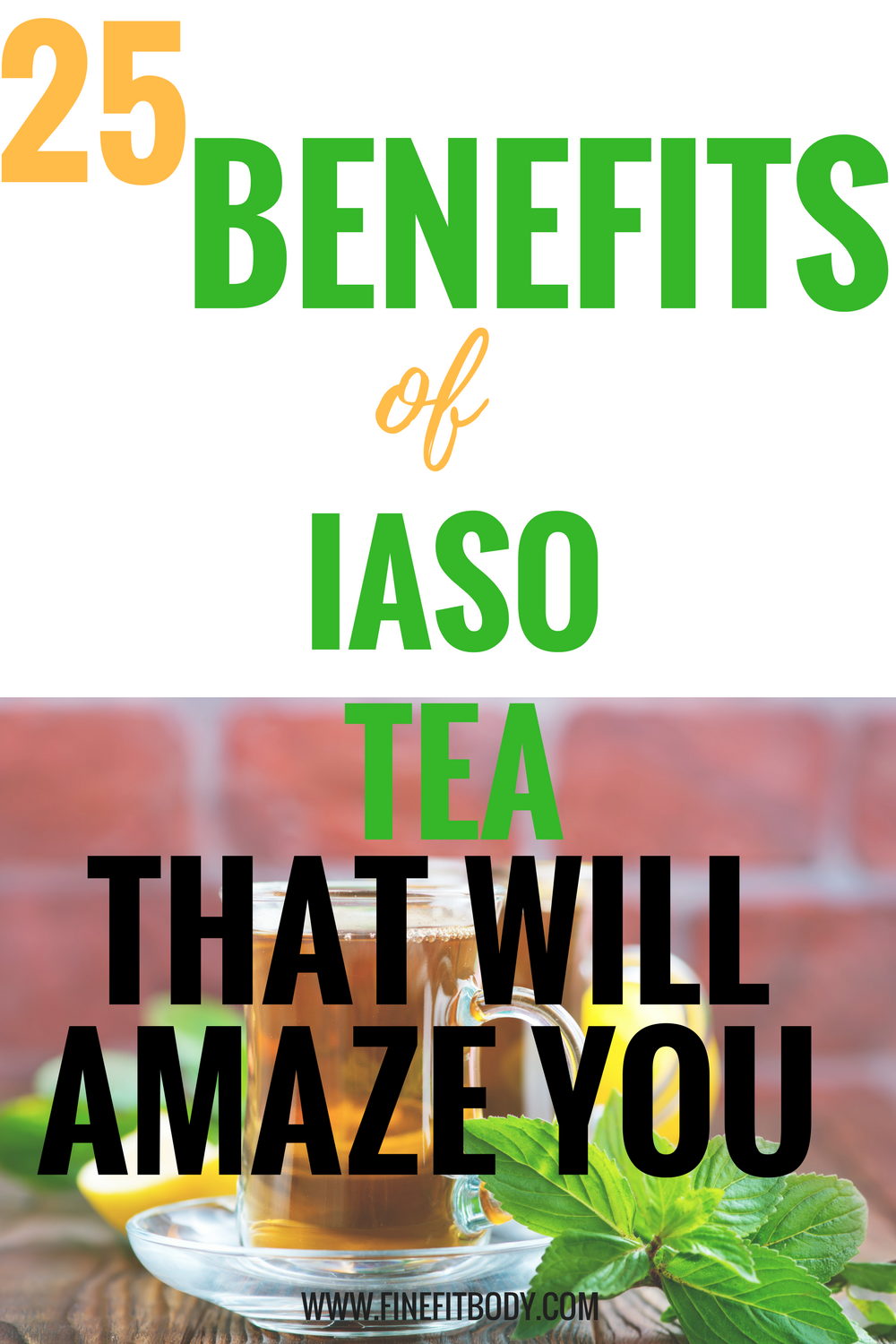 Iaso tea benefits. One of the best Iaso tea benefits is that it helps you lose weight in a week.