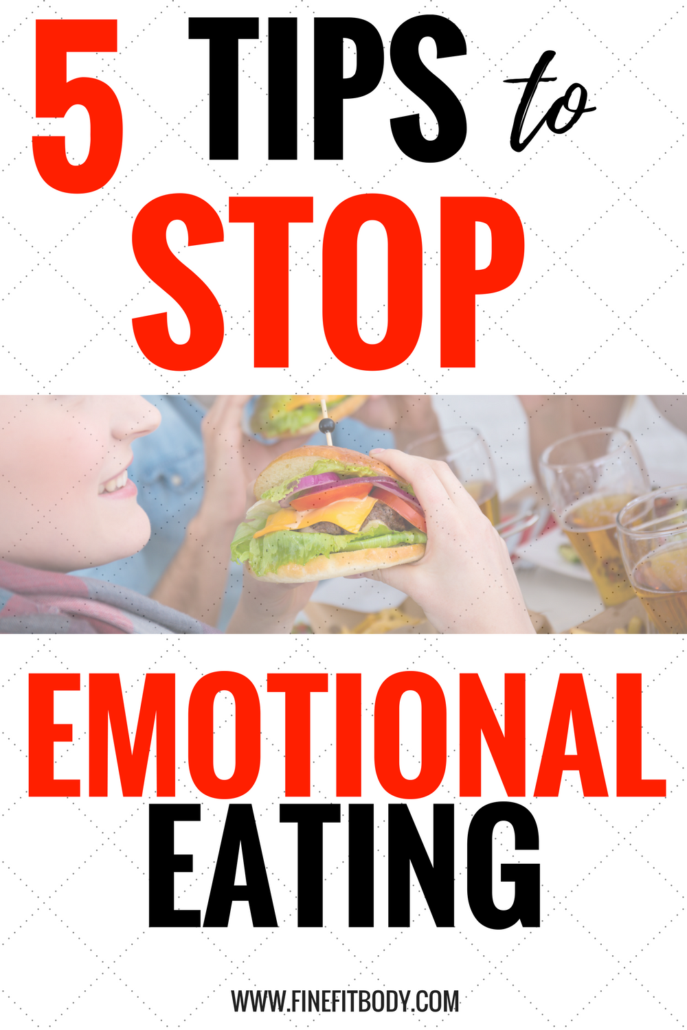 I love these tips to stop emotional eating! They will help me lose weight quick and get rid of the belly fat!