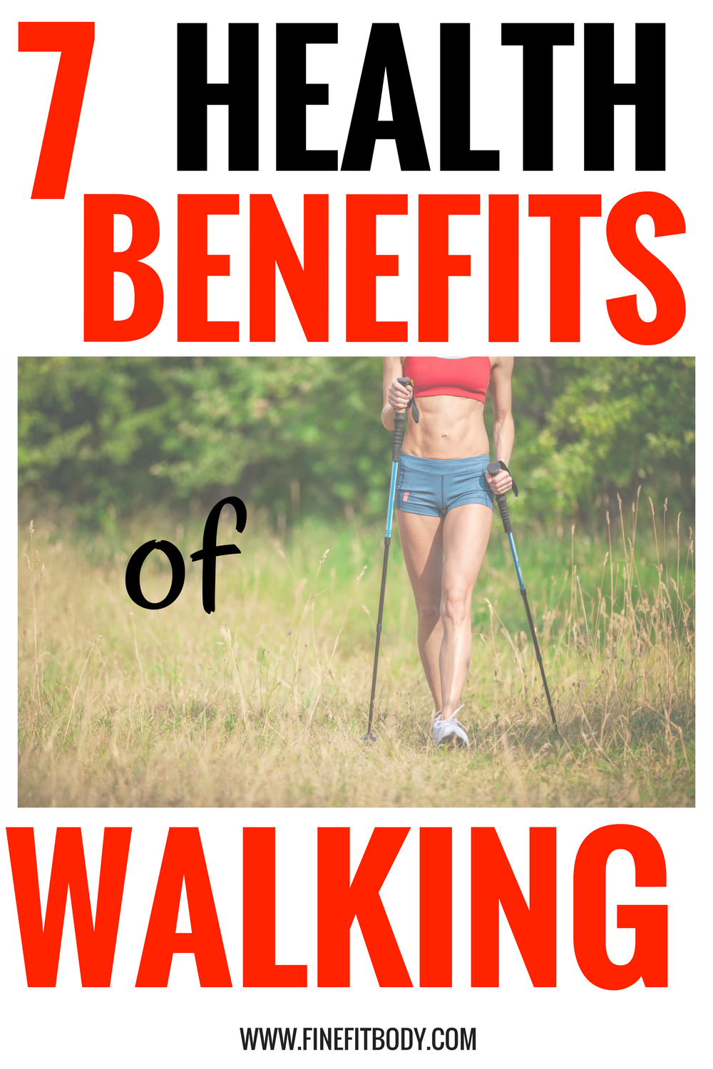 Look at all these health benefits of walking! Walking is such a great way to lose weight and an easy workout.