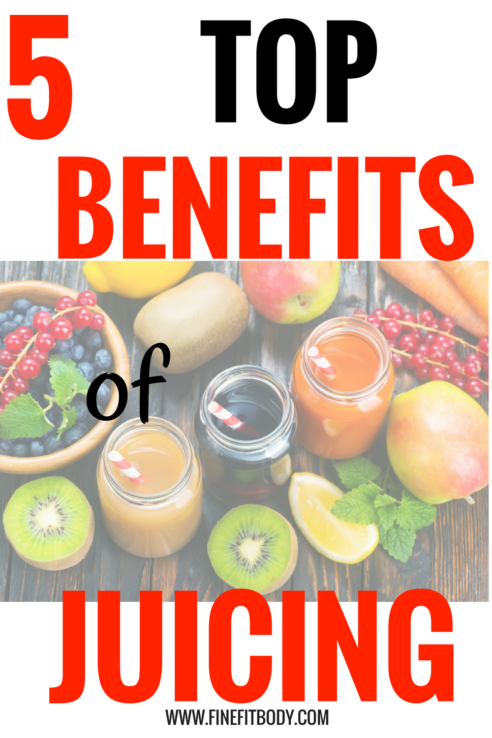 Look at all these benefits of juicing! Juicing is so great for weight loss, diets, and detox! I am definitely going to start juicing today, even though I am a beginner.