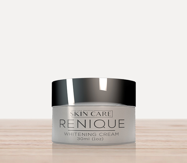 Renique Whitening Cream   Renique helps to tone and improve skin.