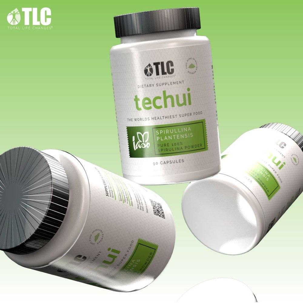 Techui   Iaso® Techui is 100% refined spirulina powder, a nutritious form of alkaline food. Spirulina may help regulate blood sugar, blood pressure and cholesterol levels, alleviate pain, inflammation and reduce allergies, balance the immune system, and improve digestion.