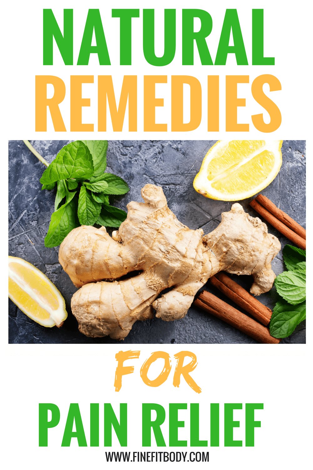 Wow, these natural home remedies for pain relief are amazing! Pinning for later!