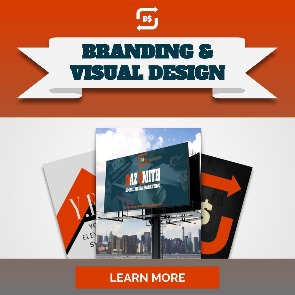 Branding & Visual Design Services