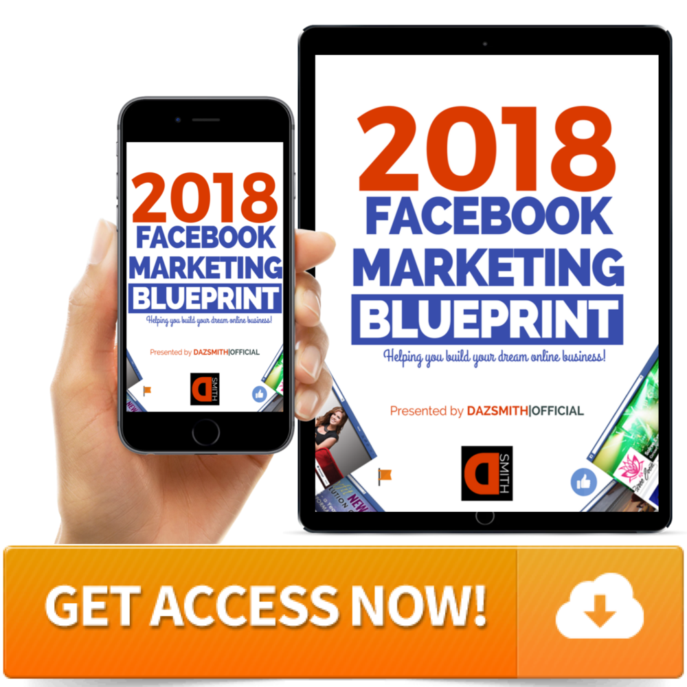 Get access to the freee 7 day video training 2018 Facebook Marketing Blueprint