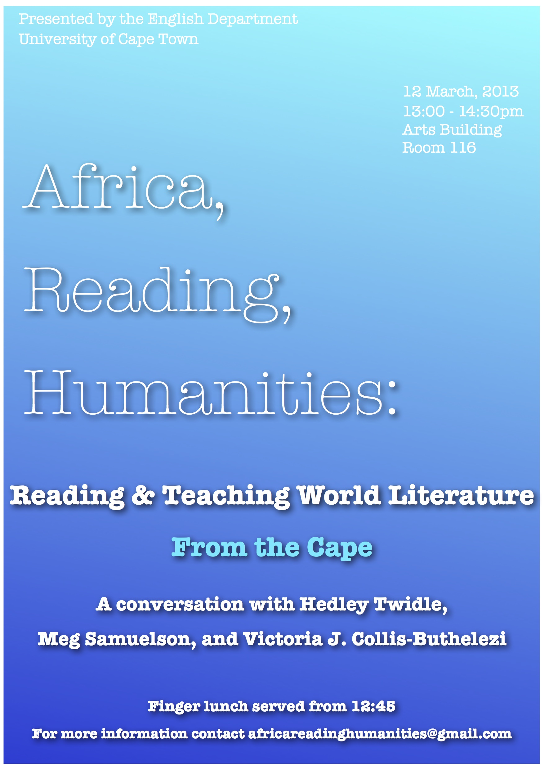 Africa Reading Humanities