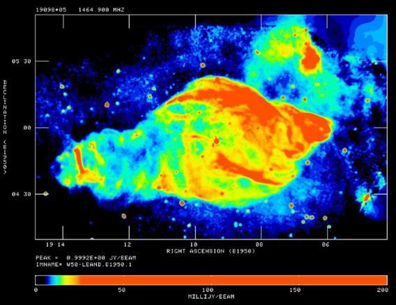 Supernova remnant (SNR)