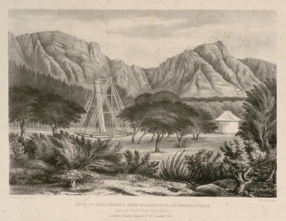 John Herschel's 21 foot Reflector Telescope