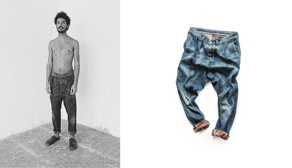 7. Blue-Jeans - Das Comeback der Blue-Jeans gehört in jeden Kleiderschrank. Sie besteht aus 100% Baumwolle, idealerweise in Bio Qualität.(Balagans)