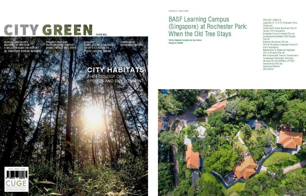 CUGE Publication 2016 April BASF Learning Campus - Goy Zhenru for Forum Architects