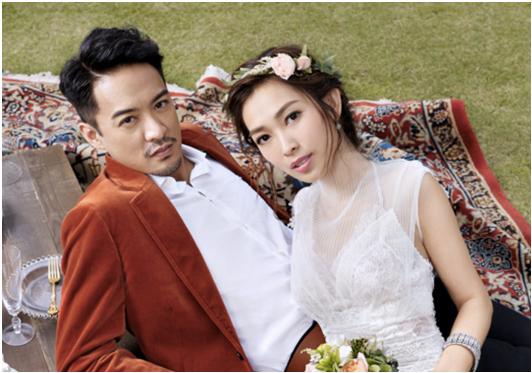 Cosmopolitan Bride HK Cover   Sarah Song in YolanCris