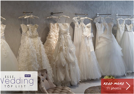 Elle.com | Top Bridal Boutique in Hong Kong