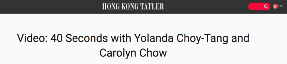 hong kong tatler interview