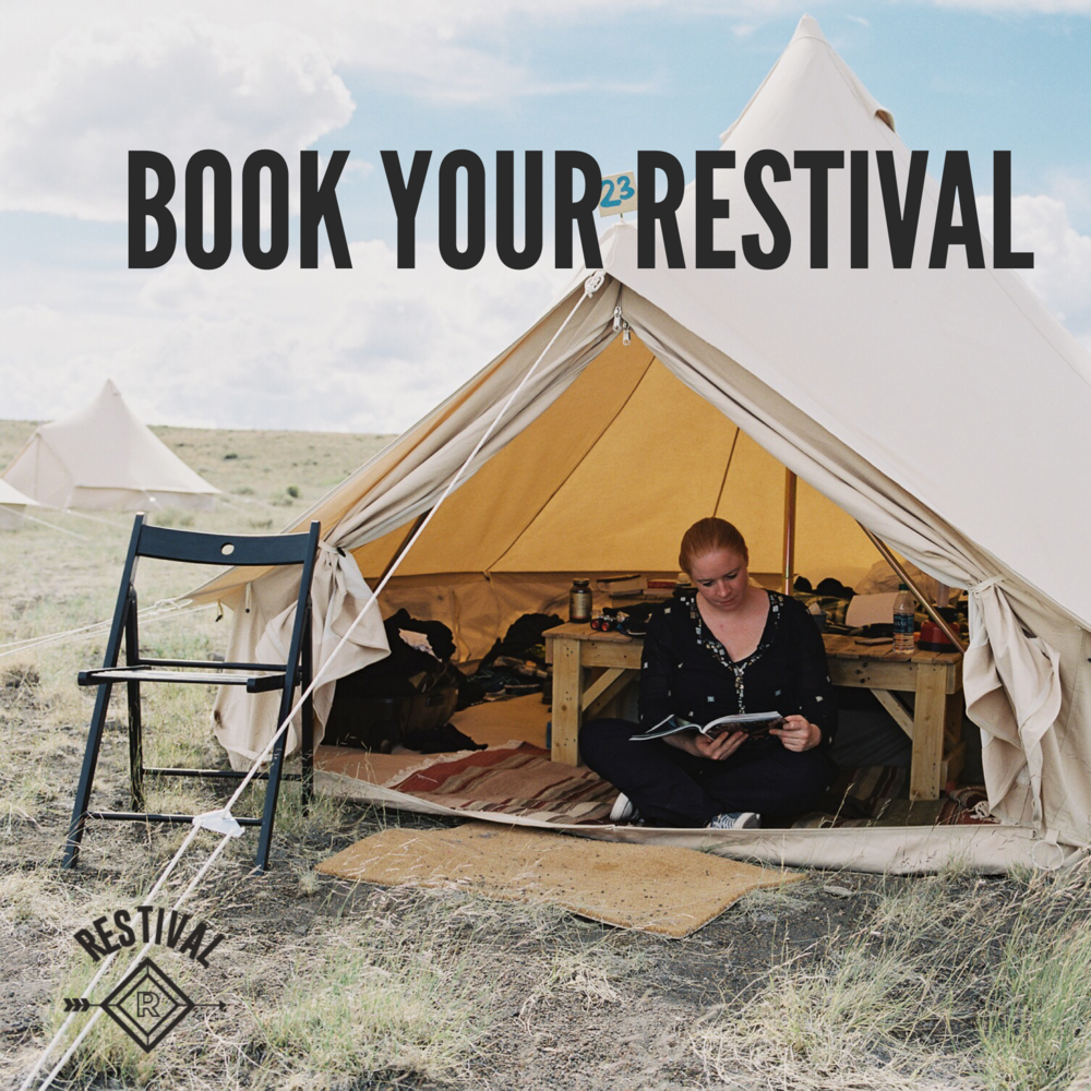 Book your Restival. Commit to the ultimate reset button and book your next Restival. Give your mind and body something relaxing to look forward to.  Book now!
