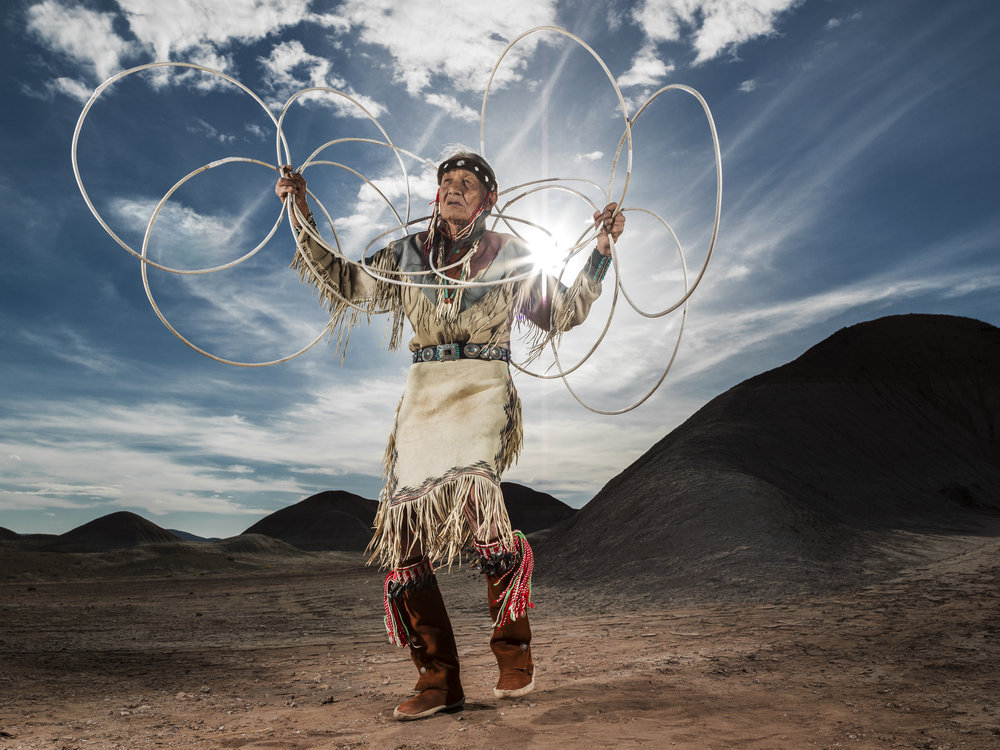 Jones Benally - Jones Benally is a respected elder of the Navajo nation in northeastern Arizona. Jones is one of seven remaining Navajo bodyworkers left in the world. Jones Benally is also recognised by the state of Arizona as an Arizona Indian Living Treasure.