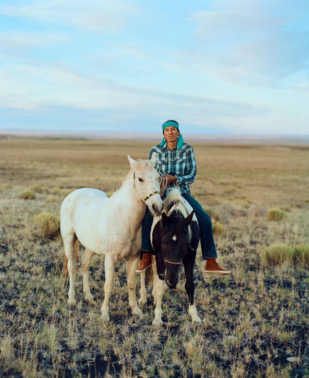 Clayson Benally - Navajo horseman Clayson has been featured in National Geographic on numerous times on