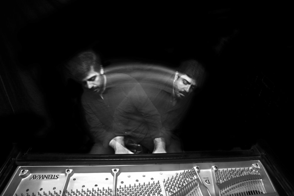 Murray Hidary - MindTravel is an immersive musical experience played live through wireless headsets. His improvisational piano meditations, inspired by mystical traditions and theoretical physics, will leave you in a state of harmony and clarity, with the rhythm to carry it forward into your life.