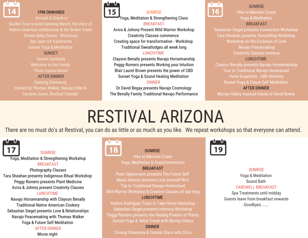 Restival Arizona Program.png
