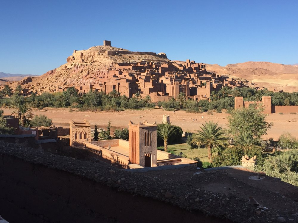 Stay in an abandoned kasbah - We'll have Closing Ceremony on the way home & stay overnight