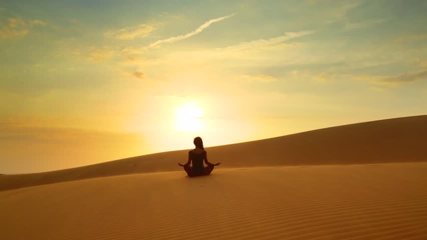 Yoga & Meditation - Experience deep desert bliss