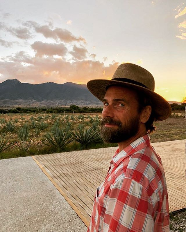 @_peteroppermann at sunset in Oaxaca.  Soon everyone will be here! ❤️