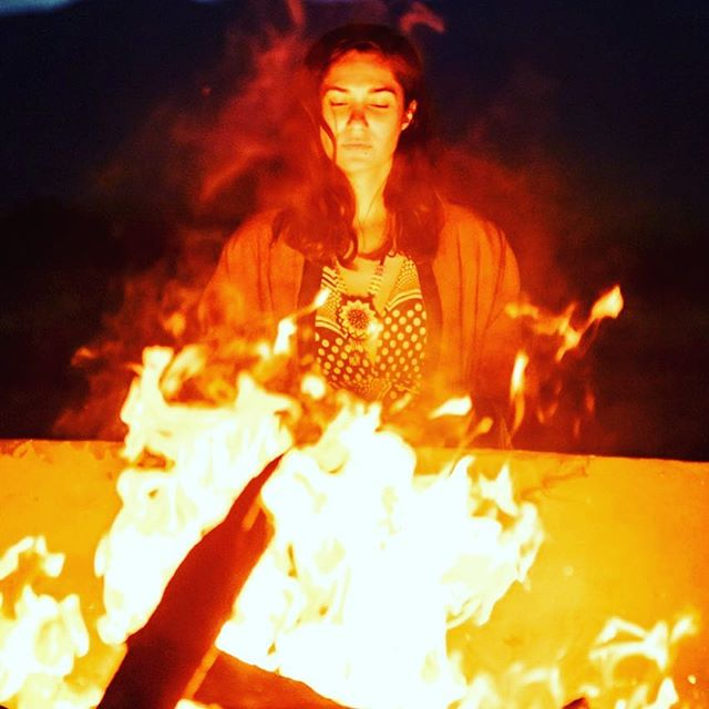 "Releasing intentions into the fire, Restival Oaxaca New Years. . . ""Caroline, sorry I didn't get to give you a last hug. Thank you so much for a truly memorable and magical five days… Hope our paths cross again… Love and light, Monique"" . . #restival #newyearsretreat #intentions #release #happynewyear #fireceremony"