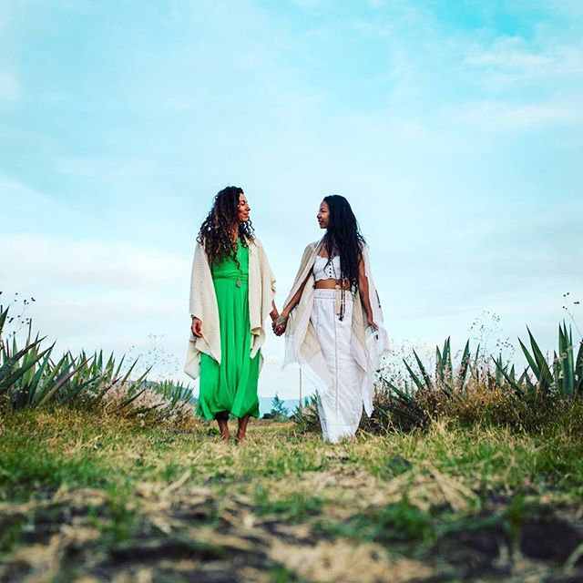 Sisters in Oaxaca - so many connections made. We are no longer alone. We have our community. @drnikkistarr @irie.soul . . .#newyearretreat #revelryreinvented #restival #newyear #yoga #unity #joinus #community #people #love #walkinbeauty