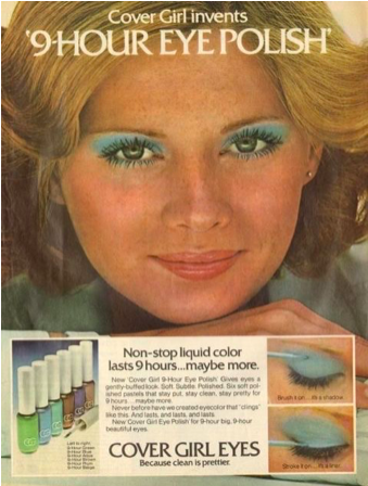 "The term ""eye polish"" scares me. Was there gasoline in this or something?"