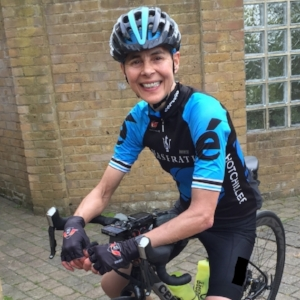 Juliette Clarke  - Endurance Cyclist and Hot Chillee Ride Captain