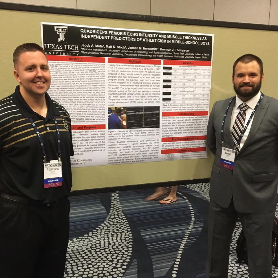 2016 NSCA conference