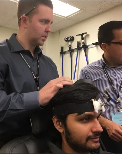 - Last week Dr. Stock attended an Intensive Course in Transcranial Magnetic Stimulation (TMS) at the Berenson-Allen Center for Noninvasive Brain Stimulation of the Beth Israel Deaconess Medical Center (Harvard Medical School). Each day featured both lectures and hands-on sessions related to the use, safety, and efficacy of TMS.