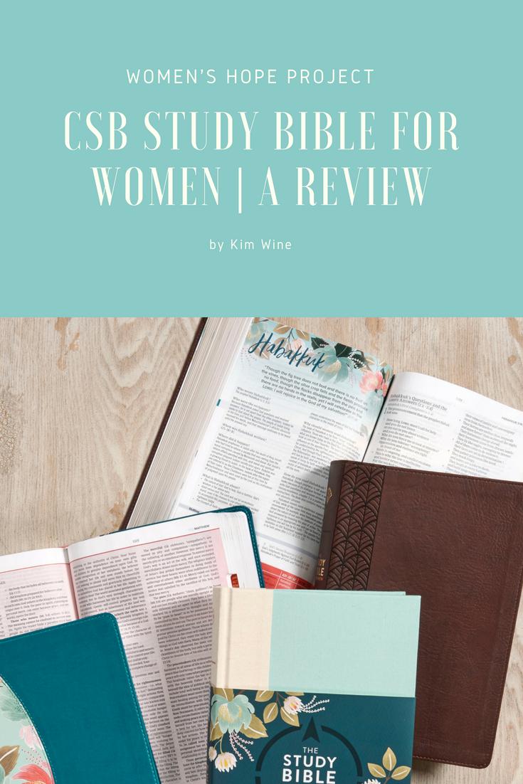 CSB Women's Study Bible Review
