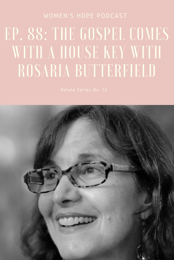 Rosaria Butterfield Hospitality
