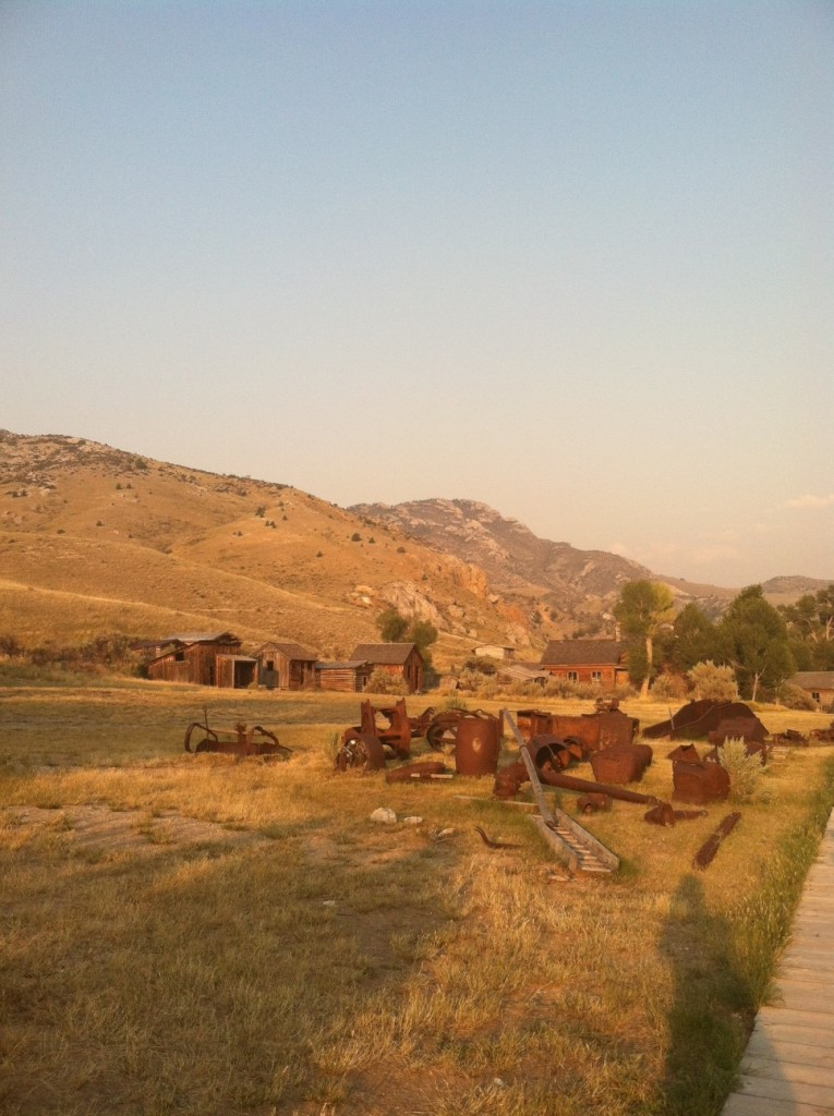 Now a ghost town, Bannack was Montana's first territorial capital (thanks gold!)