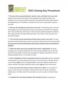 Click on this image of our Closing Day Checklist to enlarge it