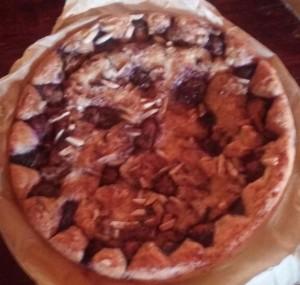 mmmmm plum cake