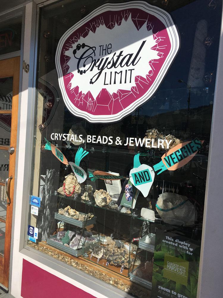 Crystal Limit display
