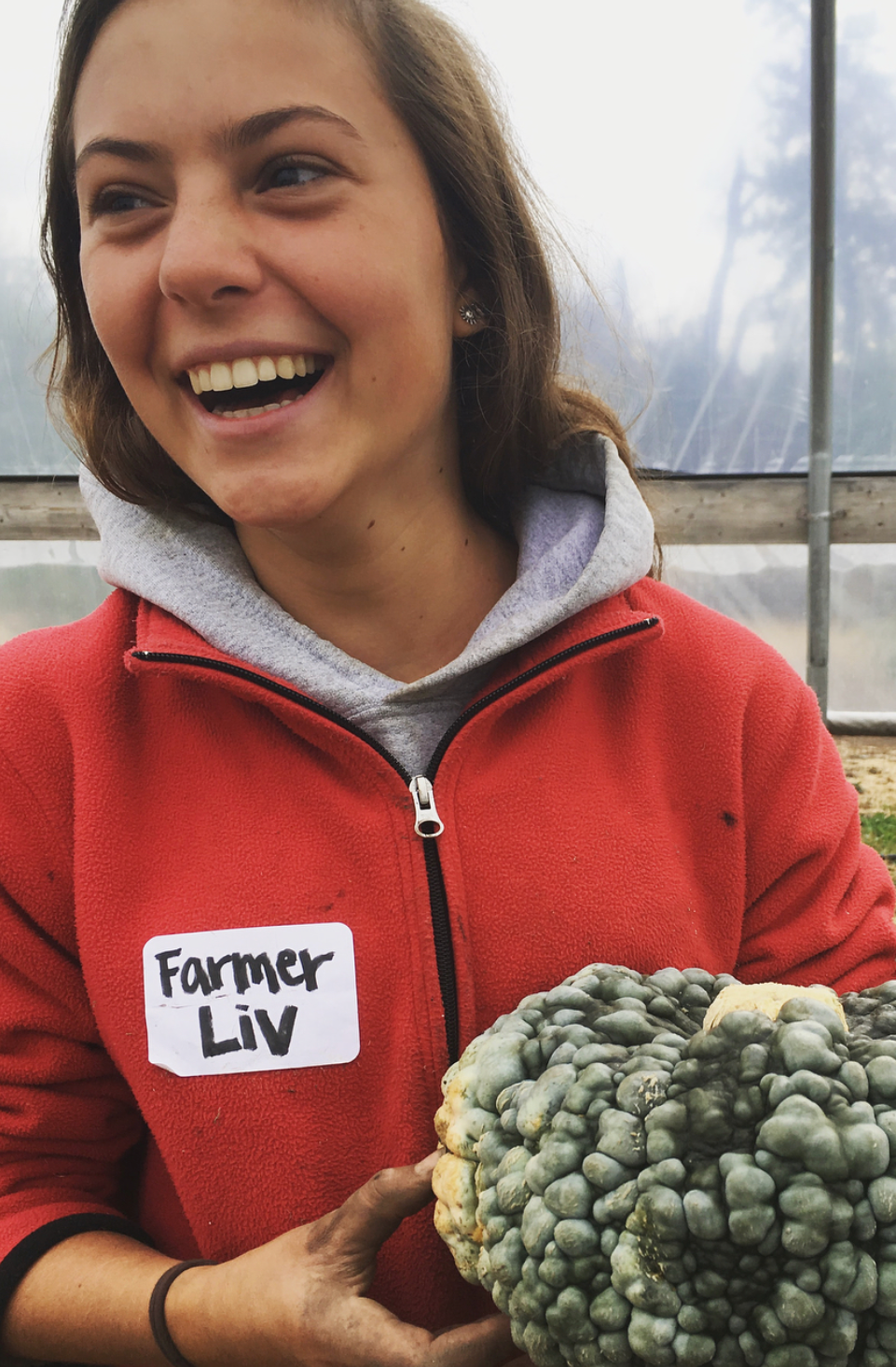 Meet Olivia. . . - This blog is written by Olivia DiMichele, a recent graduate of Hotchkiss Schoolwho decided to spend the growing season with us this year as a part of our first ever Gap Season program. She arrived in June, joining in with a family as part of a home stay and equipped only with a bike and a map of Missoula and a schedule of where to be when. She made a wonderful summer out of it! We were lucky to have her to test out the ropes: motivated, hard working, and full of enthusiasm, she certainly made a difference. So here she is, to tell the season from her perspective.