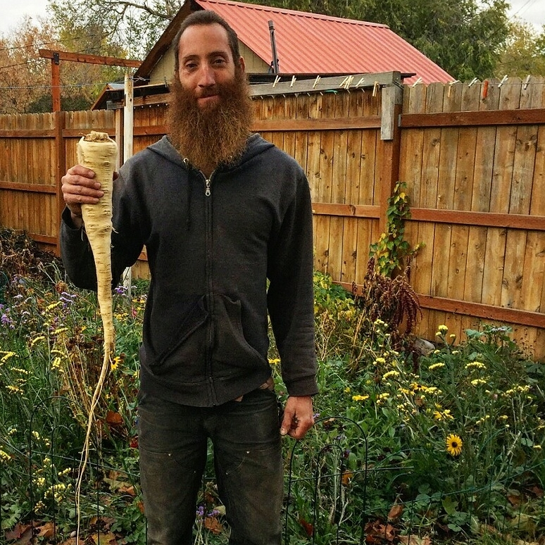 Dave Victor, Farmer - Orchard Gardens Farm Director Dave Victor is known as the mad farm scientist of Garden City Harvest. He loves to teach while you work, think through problems together and share his vast knowledge of plant systems, soil ecology, and more!