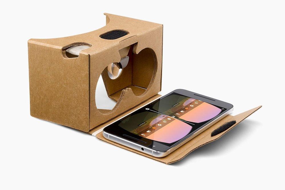 Google Cardboard example
