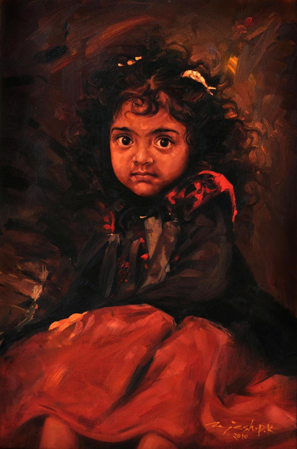 Shayona  Oil on Canvas - 36x24 inches - 2010