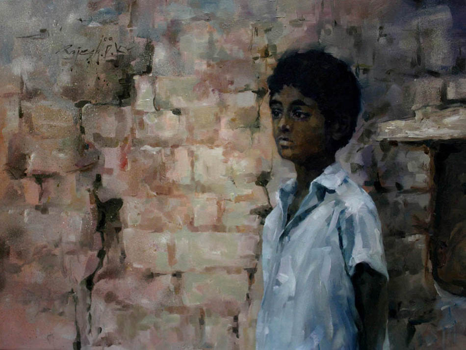 Untitled  Oil on Canvas - 30x40 inches - 2009