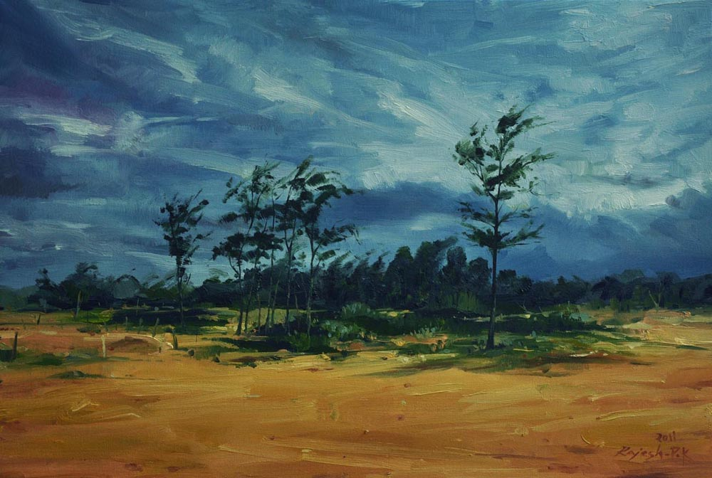 A nice day.  Oil on Canvas - 20x30 inches - 2011