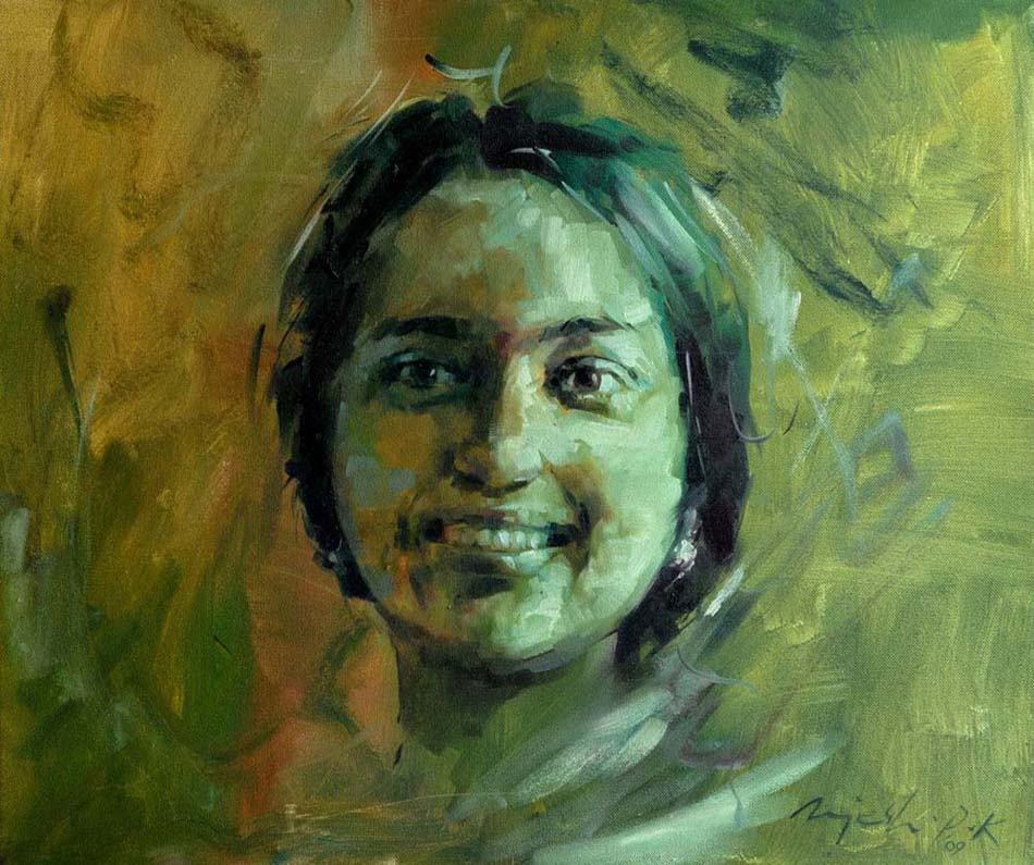 Remya  Oil on Canvas - 20x24 inches - 2009