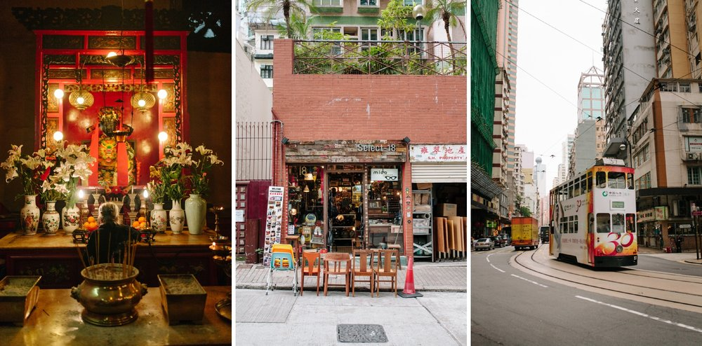 hong kong street photos