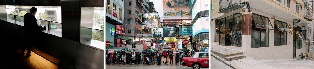 hong kong streets and craft cow bar
