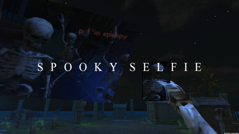 Spooky Selfie(PC, Web & Windows) - Personal Project // February 2015I made a joke that happened to also be a video game. It got a bit out of hand.