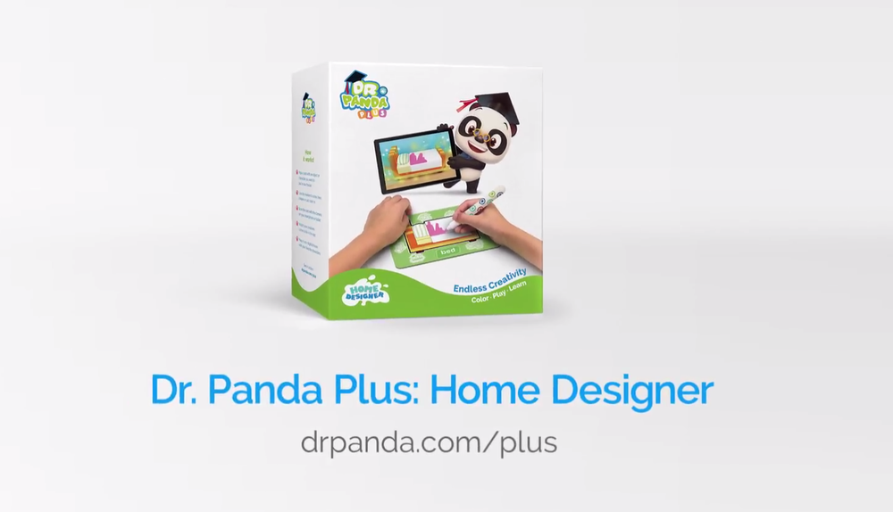 Dr. Panda Plus: Home Designer - An augmented reality product, combining a free app and a physical product that contains laminated flashcards and markers to colour the flashcards. A digital dollhouse, the app supports young children on spelling and gives the older children a magical playground to express their own creativity.I was the lead on this project. I worked closely with the head designer and the COO to design and produce this product. The project was then handed over to the COO at a beta stage for her to finalise the logistical chain of the physical product.