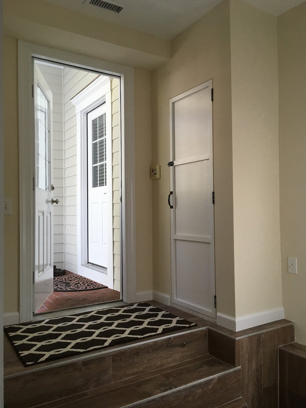 Garage Entry by ozworx - an oak island remodeling contractor
