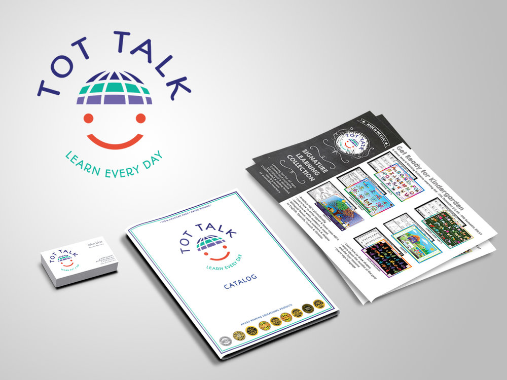 Logo, Business Card, Catalog, and Flyer Design